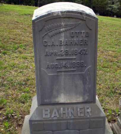 BAHNER, OTTO - Greene County, Arkansas | OTTO BAHNER - Arkansas Gravestone Photos