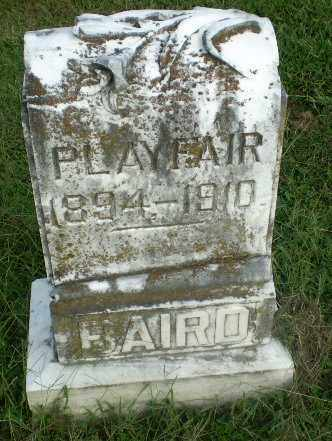 BAIRD, PLAY FAIR - Greene County, Arkansas | PLAY FAIR BAIRD - Arkansas Gravestone Photos
