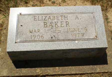 BAKER, ELIZABETH A - Greene County, Arkansas | ELIZABETH A BAKER - Arkansas Gravestone Photos