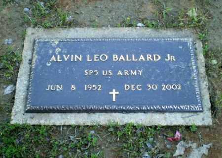 BALLARD, JR  (VETERAN), ALVIN LEO - Greene County, Arkansas | ALVIN LEO BALLARD, JR  (VETERAN) - Arkansas Gravestone Photos