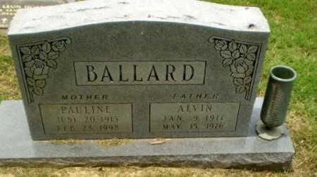 BALLARD, PAULINE - Greene County, Arkansas | PAULINE BALLARD - Arkansas Gravestone Photos