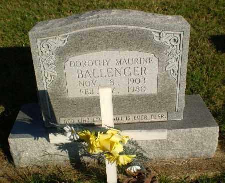 BALLENGER, DOROTHYH MAURINE - Greene County, Arkansas | DOROTHYH MAURINE BALLENGER - Arkansas Gravestone Photos