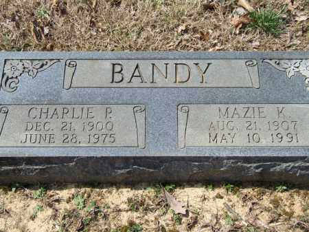 BANDY, CHARLIE P. - Greene County, Arkansas | CHARLIE P. BANDY - Arkansas Gravestone Photos