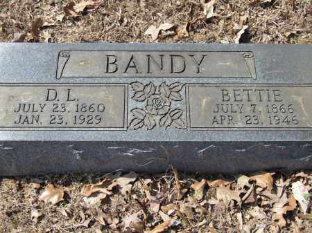 BANDY, D.L. - Greene County, Arkansas | D.L. BANDY - Arkansas Gravestone Photos