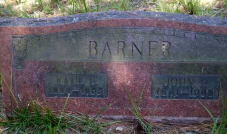 BARNER, KATIE C - Greene County, Arkansas | KATIE C BARNER - Arkansas Gravestone Photos