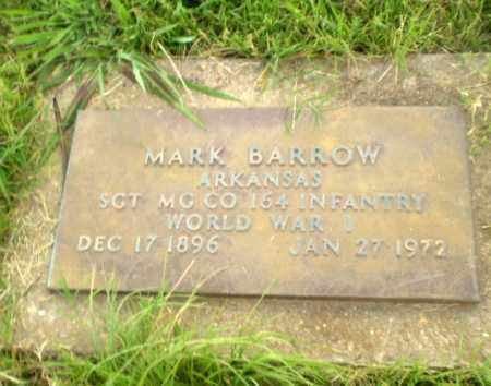 BARROW  (VETERAN WWII), MARK - Greene County, Arkansas | MARK BARROW  (VETERAN WWII) - Arkansas Gravestone Photos