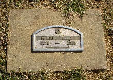 BARRY, MARTHA - Greene County, Arkansas | MARTHA BARRY - Arkansas Gravestone Photos