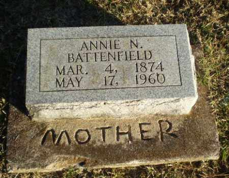 BATTENFIELD, ANNIE N - Greene County, Arkansas | ANNIE N BATTENFIELD - Arkansas Gravestone Photos
