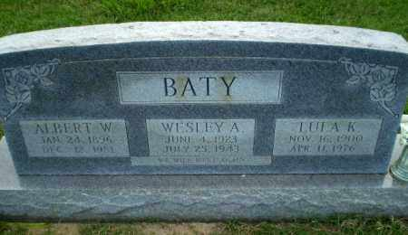 BATY, LULA K - Greene County, Arkansas | LULA K BATY - Arkansas Gravestone Photos