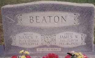 BEATION, JAMES W - Greene County, Arkansas | JAMES W BEATION - Arkansas Gravestone Photos