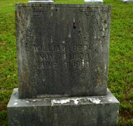 BECK, WILLIAM - Greene County, Arkansas | WILLIAM BECK - Arkansas Gravestone Photos