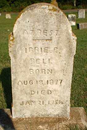BELL, IBBIE E - Greene County, Arkansas | IBBIE E BELL - Arkansas Gravestone Photos