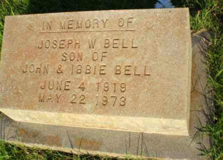 BELL, JOSEPH W - Greene County, Arkansas | JOSEPH W BELL - Arkansas Gravestone Photos