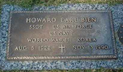 BIEN (VETERAN 2 WARS), HOWARD EARL - Greene County, Arkansas | HOWARD EARL BIEN (VETERAN 2 WARS) - Arkansas Gravestone Photos