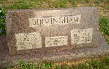 BIRMINGHAM, ROBERT L - Greene County, Arkansas | ROBERT L BIRMINGHAM - Arkansas Gravestone Photos