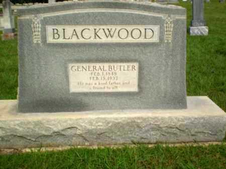 BLACKWOOD, GENERAL BUTLER - Greene County, Arkansas | GENERAL BUTLER BLACKWOOD - Arkansas Gravestone Photos