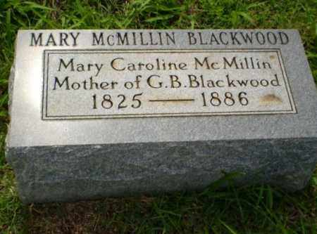 MCMILLIN BLACKWOOD, MARY - Greene County, Arkansas | MARY MCMILLIN BLACKWOOD - Arkansas Gravestone Photos