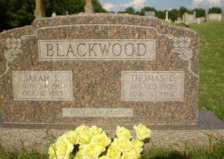 BLACKWOOD, THOMAS D - Greene County, Arkansas | THOMAS D BLACKWOOD - Arkansas Gravestone Photos