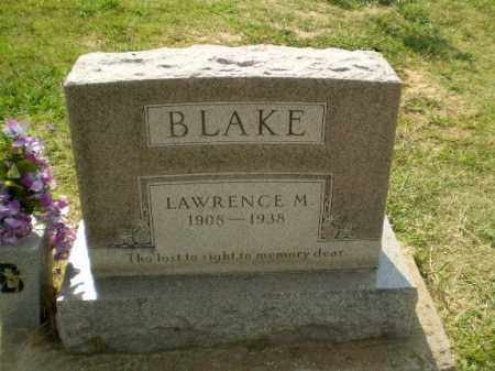 BLAKE, LAWRENCE M - Greene County, Arkansas | LAWRENCE M BLAKE - Arkansas Gravestone Photos