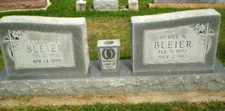 BLEIER, CLELLA J - Greene County, Arkansas   CLELLA J BLEIER - Arkansas Gravestone Photos