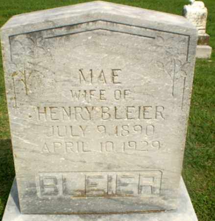 BLEIER, MAE - Greene County, Arkansas | MAE BLEIER - Arkansas Gravestone Photos