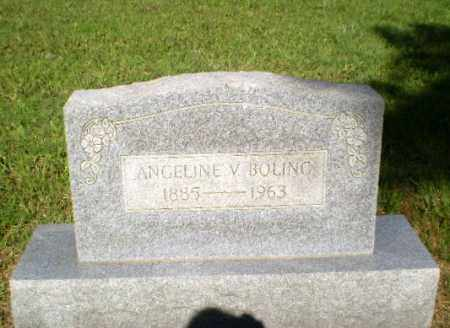 BOLING, ANGELINE V - Greene County, Arkansas | ANGELINE V BOLING - Arkansas Gravestone Photos