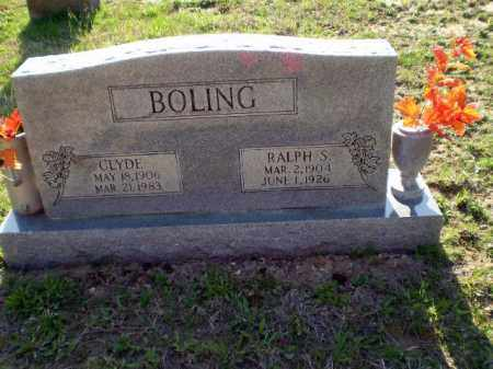 BOLING, RALPH - Greene County, Arkansas | RALPH BOLING - Arkansas Gravestone Photos