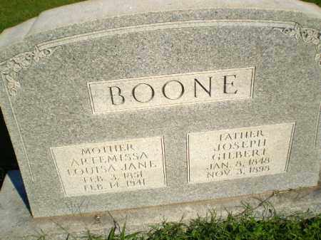 BOONE, ARTEMISSA LOUISA JANE - Greene County, Arkansas | ARTEMISSA LOUISA JANE BOONE - Arkansas Gravestone Photos