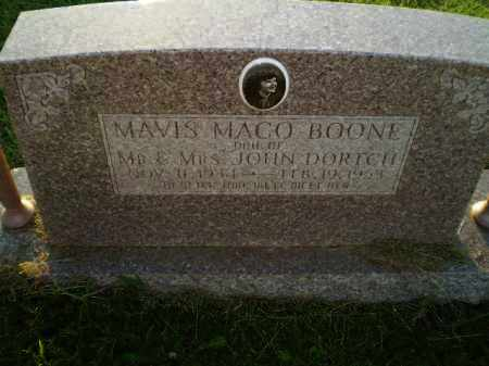 BOONE, MAVIS MACO - Greene County, Arkansas | MAVIS MACO BOONE - Arkansas Gravestone Photos