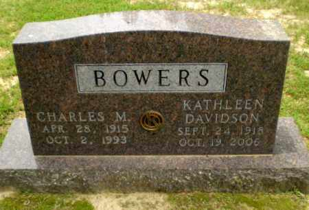 DAVIDSON BOWERS, KATHLEEN - Greene County, Arkansas | KATHLEEN DAVIDSON BOWERS - Arkansas Gravestone Photos