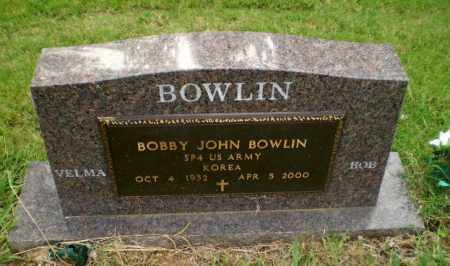 BOWLIN  (VETERAN KOR), BOBBY JOHN - Greene County, Arkansas | BOBBY JOHN BOWLIN  (VETERAN KOR) - Arkansas Gravestone Photos