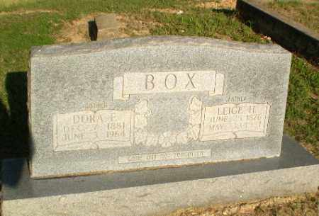 BOX, DORA E - Greene County, Arkansas | DORA E BOX - Arkansas Gravestone Photos
