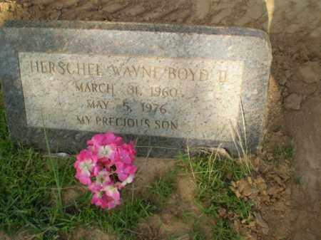 BOYD, II, HERSCHEL WAYNE - Greene County, Arkansas | HERSCHEL WAYNE BOYD, II - Arkansas Gravestone Photos
