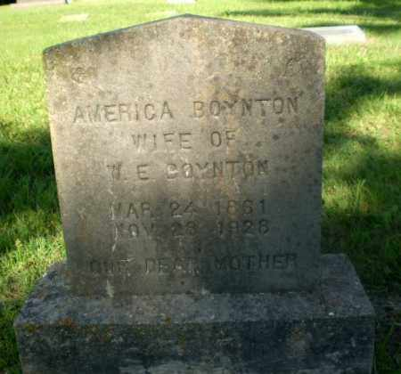 BOYNTON, AMERICA - Greene County, Arkansas | AMERICA BOYNTON - Arkansas Gravestone Photos