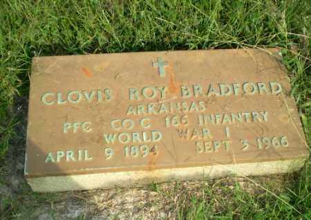 BRADFORD  (VETERAN WWI), CLOVIS ROY - Greene County, Arkansas | CLOVIS ROY BRADFORD  (VETERAN WWI) - Arkansas Gravestone Photos