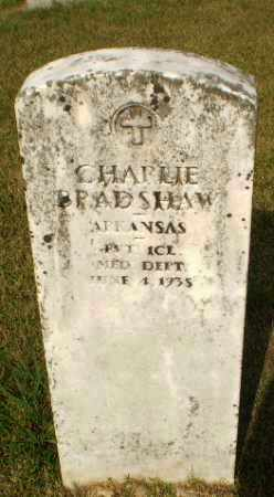 BRADSHAW (VETERAN), CHARLIE - Greene County, Arkansas | CHARLIE BRADSHAW (VETERAN) - Arkansas Gravestone Photos