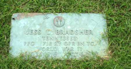 BRADSHER  (VETERAN WWII), JESS L - Greene County, Arkansas | JESS L BRADSHER  (VETERAN WWII) - Arkansas Gravestone Photos