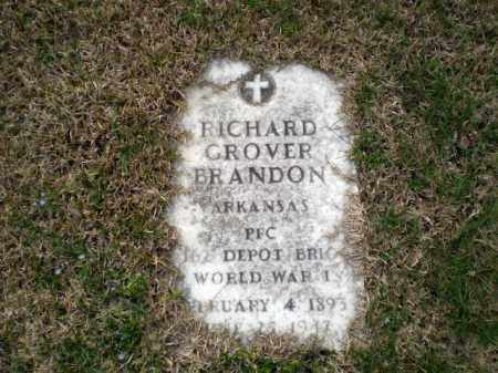 BRANDON  (VETERAN WWI), RICHARD GROVER - Greene County, Arkansas | RICHARD GROVER BRANDON  (VETERAN WWI) - Arkansas Gravestone Photos