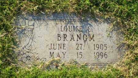 BRANOM, LOUISE C - Greene County, Arkansas | LOUISE C BRANOM - Arkansas Gravestone Photos