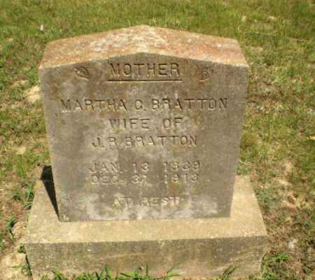 BRATTON, MARTHA C - Greene County, Arkansas | MARTHA C BRATTON - Arkansas Gravestone Photos