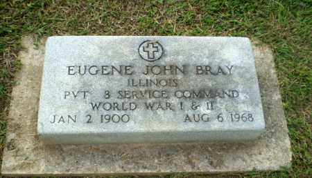 BRAY  (VETERAN 2 WARS), EUGENE JOHN - Greene County, Arkansas | EUGENE JOHN BRAY  (VETERAN 2 WARS) - Arkansas Gravestone Photos