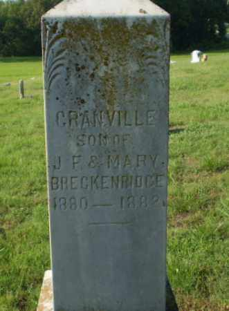 BRECKENRIDGE, CRANVILLE - Greene County, Arkansas | CRANVILLE BRECKENRIDGE - Arkansas Gravestone Photos