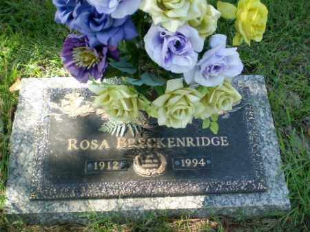BRECKENRIDGE, ROSA - Greene County, Arkansas | ROSA BRECKENRIDGE - Arkansas Gravestone Photos