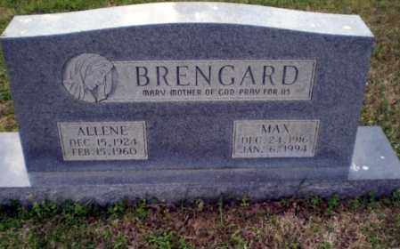 BRENGARD, MAX - Greene County, Arkansas | MAX BRENGARD - Arkansas Gravestone Photos