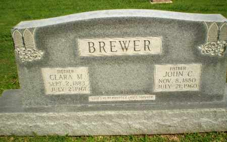 BREWER, CLARA M - Greene County, Arkansas | CLARA M BREWER - Arkansas Gravestone Photos