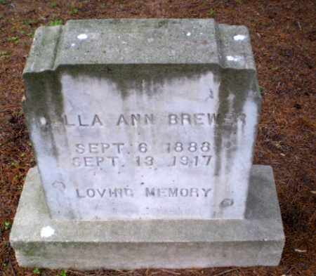 BREWER, DELLA ANN - Greene County, Arkansas | DELLA ANN BREWER - Arkansas Gravestone Photos