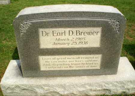 BREWER, DR, EARL D - Greene County, Arkansas | EARL D BREWER, DR - Arkansas Gravestone Photos