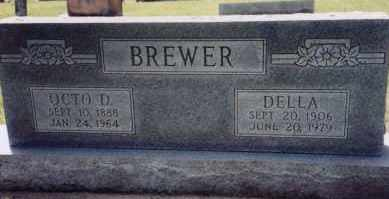 RAMER BREWER, DELLA - Greene County, Arkansas | DELLA RAMER BREWER - Arkansas Gravestone Photos