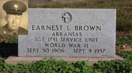 BROWN (VETERAN WWII), EARNEST L - Greene County, Arkansas | EARNEST L BROWN (VETERAN WWII) - Arkansas Gravestone Photos