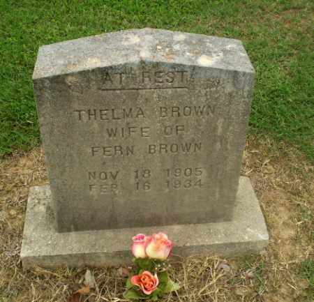 BROWN, THELMA - Greene County, Arkansas | THELMA BROWN - Arkansas Gravestone Photos